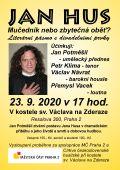 Jan Hus plakát 1