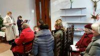 Vánoční bohoslužba v Uhlířských Janovicích 2015