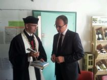 S primátorem Kostnice v domě česko-německého přátelství
